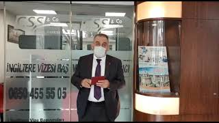 9 Mart Ankara Ofisi Müşterimiz Ankara Anlaşması Vizesi ile İngiltere Yolcusu! - CSS Legal