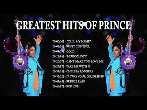 Prince Greatest Hits Collection - Best Songs Of Prince Full Album