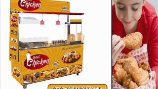preview picture of video 'for fried chicken franchise in orissa india used kitchen equipment are taken into consideration'