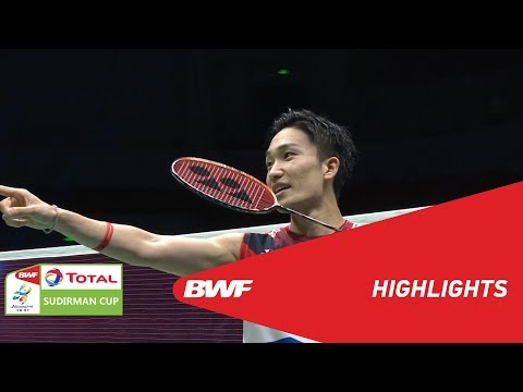 TOTAL BWF SUDIRMAN CUP 2019 | MS | INDONESIA VS JAPAN | BWF 2019