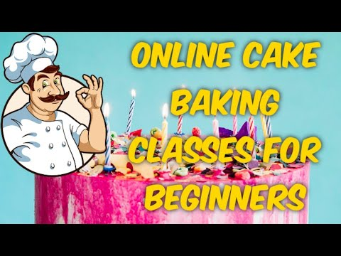 online cake and pastry baking classes for beginners - YouTube
