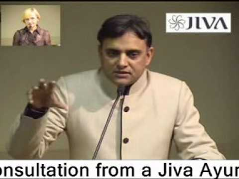 Dr. Partap Chauhan  , Director  , Jiva Ayurveda  , gives a lecture to Ayurveda students in Lithuania