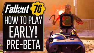 How to Play FALLOUT 76 EARLY on Xbox One!? (Pre-BETA)