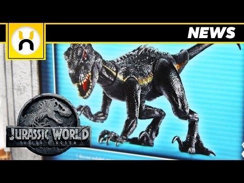Jurassic World Fallen Kingdom FULL LOOK at Indoraptor Revealed