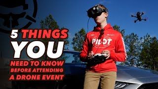 5 Essential Tips for a FPV Event