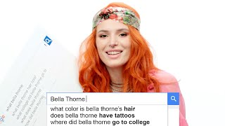 Bella Thorne Answers the Web