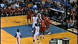 Lebron James & Chris Paul 2003 McDonald's All American Game Highlights