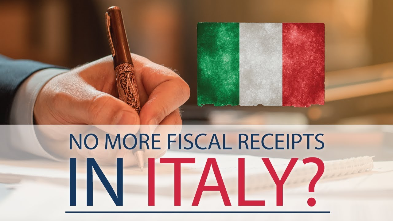 In Italy commercial documents instead of fiscal receipts