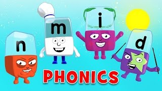 Learn to Read | Phonics for Kids | Learning Letters - I, N, M, D
