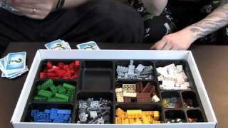 Toy Brief 46 : Creationary LEGO Game Set 3844 Opening Building Review Play