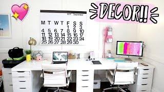 New Office Decor!! AlishaMarieVlogs