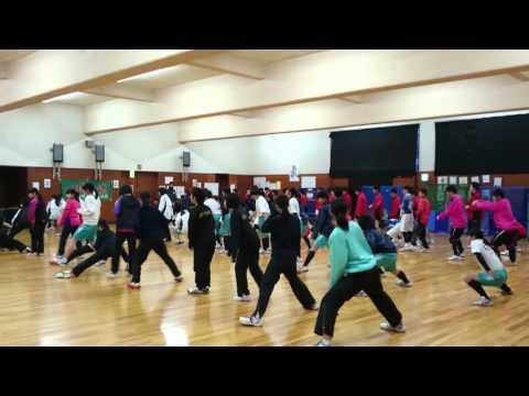高松中学校冬季運動啓発支援第1弾