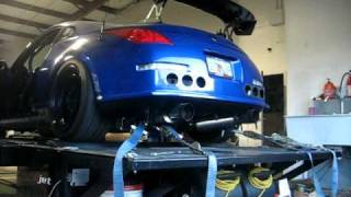 350z hks exhaust test pipes - TH-Clip