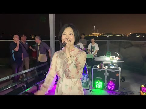 2019.04.25 西九文化區街演 -  完場第6節 (月半小夜曲, 謝謝你常記得我, 月亮代表我的心, 套馬桿),  香港旺角小龙女龙婷