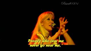 "ABBA (Live Sidney) _ ""Tiger"" + lyrics HD"