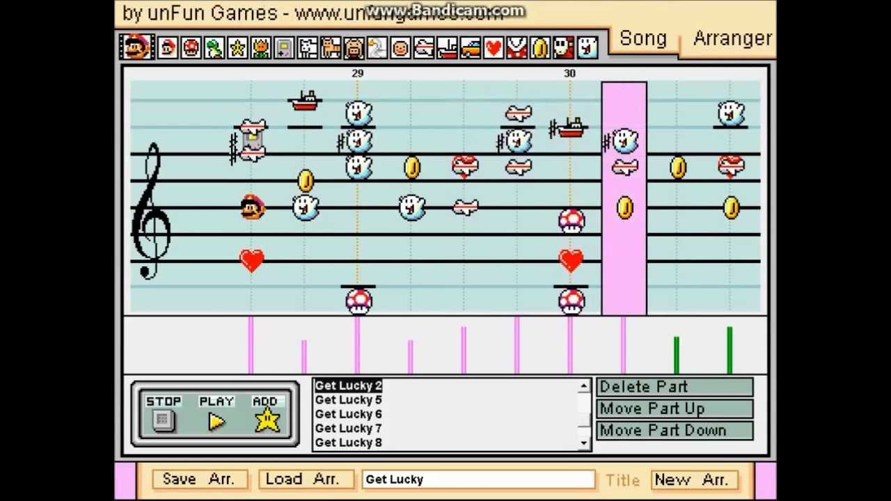 Get Lucky In Mario Paint Is Humanity's Greatest Achievement