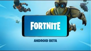 FORTNITE ANDROID BETA - Gameplay Walkthrough Part 1 - Samsung Galaxy S8 Best Graphics