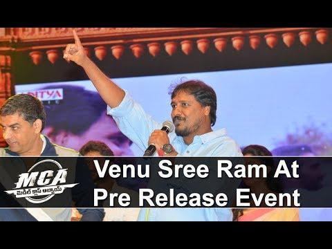 Director Venu Sree Ram At MCA Pre Release Event