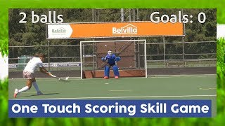 One Touch Scoring Skill Game – HHTV Skill Games | Hockey Heroes TV