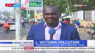 PS Chris Kiptoo visits Kisumu to meet environmental agencies to discuss Lake Victoria pollution
