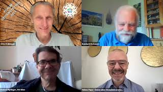 Helmo Pape, Reinhard Schwarz und Robert Hipfinger