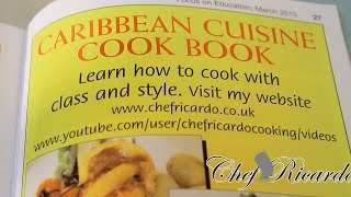 Focus On Education Learn How To Cook With Class And Style With ,   Recipes By Chef Ricardo