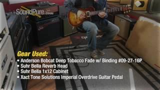 Anderson Bobcat Deep Tobacco Fade w/ Binding #09-27-16P Quick n' Dirty
