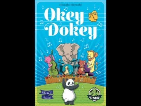 Okey Dokey from Tasty Minstrel Games Overview from Gen Con 50