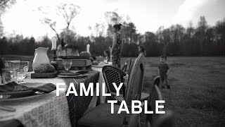 Zac Brown Band   Family Table (Lyric Video)