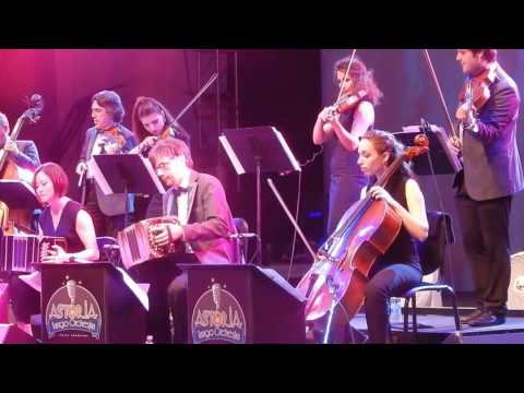@Lincoln Center performing with Astoria Tango Orchestra