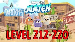 Angry Birds Match - LEVEL 212-220 - MILD WEST - MADISON - Gameplay - EP17