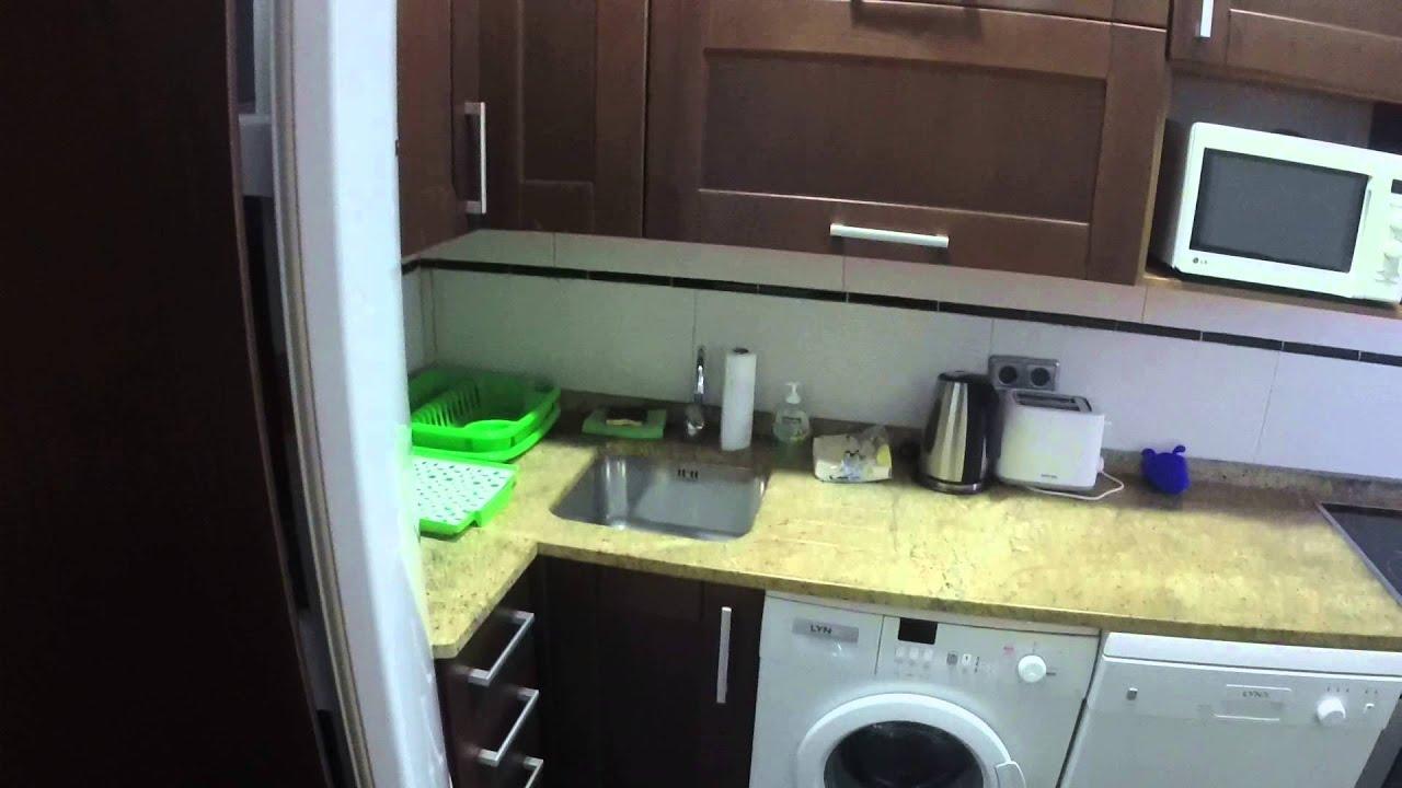 Two bedroom apartment with AC for rent near Templo de Debod and Plaza de España