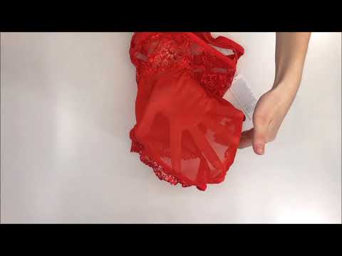 Elegantní body 838 - TED red - Obsessive