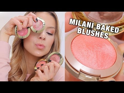 MILANI BAKED BLUSHES (Review + Swatches)