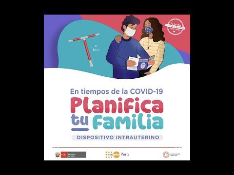 Planificación familiar en tiempos de la COVID19: DIU