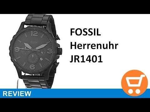 Fossil Herren-Uhren JR1401 - Review | deutsch / german