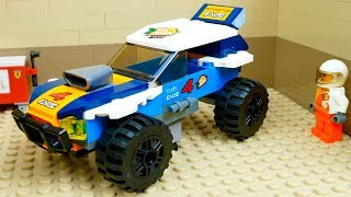 Garage for building cars. Lego Cars  Compilation