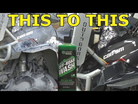 ATV WASHING 101 SLICK PRODUCTS MAKES CLEANING YOUR ATV EASIER