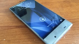 Sharp Aquos Crystal (UNBOXING) & Hands on