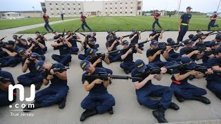 Inside look at Coast Guard boot camp in Cape May
