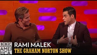 Rami Malek Is Done With Wigs | The Graham Norton Show | BBC America