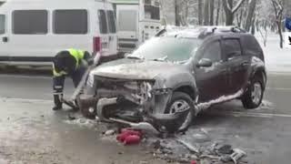 ДТП. Аварии. 2018.  Аварии на трассе. Попали в аварию.