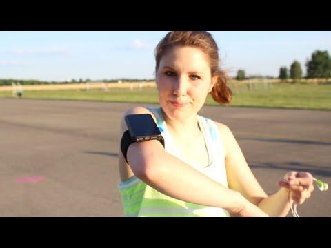Smartphone Halterung für Jogger und Radler [Quadlock]