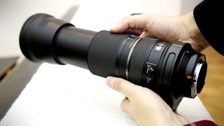 Tamron 150-600mm f/5-6.3 VC USD lens review with samples (full-frame and APS-C)