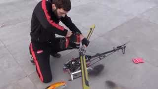 RC HELICOPTER AEOLUS 50 3D - EPIC FAIL
