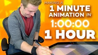 1 MINUTE ANIMATED SHORT: Made in 1 HOUR!?