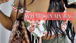 WHAT'S IN MY BAG 2017 │LOUIS VUITTON NEVERFULL MM