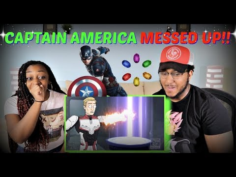 """Hishe """"How Captain America Should Have Returned The Stones"""" REACTION!!"""