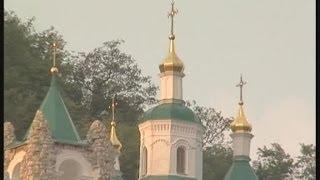Два крыла Святогорской Лавры
