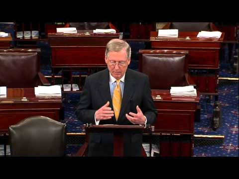McConnell Asks For a Vote on Obamacare Repeal